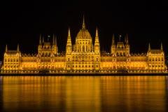 Het Hongaarse parlement Stock Afbeelding