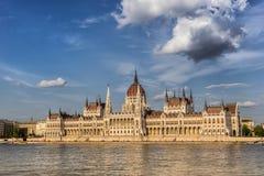 Het Hongaarse parlement Stock Foto