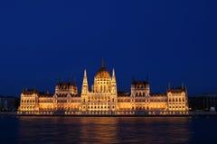 Het Hongaarse Parlement die 1 bouwen Stock Afbeelding