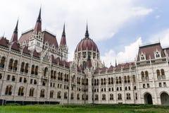 Het Hongaarse Parlementsgebouw - Boedapest royalty-vrije stock afbeeldingen