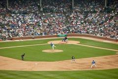 Het honkbal van Chicago Stock Afbeeldingen