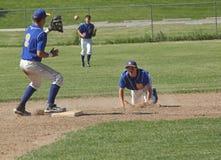 Het Honkbal van de middelbare school Stock Afbeeldingen