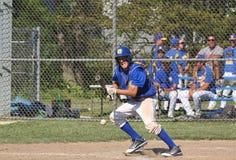 Het Honkbal van de middelbare school Stock Afbeelding