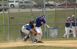 Het Honkbal van de middelbare school Royalty-vrije Stock Fotografie