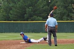 Het Honkbal van de middelbare school Royalty-vrije Stock Afbeelding