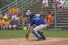 Het Honkbal van de middelbare school Stock Foto's