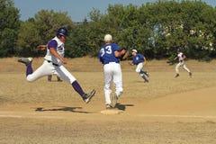 Het Honkbal van de middelbare school Stock Fotografie