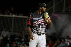 Het honkbal van El Paso Chihuahuas Royalty-vrije Stock Foto