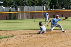 Het Honkbal van middelbare schoolvarsity Royalty-vrije Stock Afbeelding