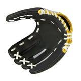 Het honkbalhandschoen van het leer stock foto