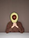 Het hoofd van de avocado Stock Afbeelding