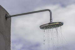 Het hoofd van de douche Stock Foto