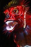 Het hoofd van de draak Stock Afbeeldingen