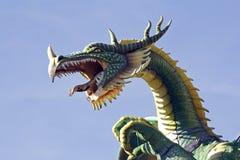 Het hoofd van de draak Royalty-vrije Stock Afbeeldingen