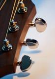 Het Hoofd van de gitaar Stock Afbeeldingen