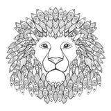 Het Hoofd van de leeuw Stock Afbeeldingen