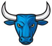 Het hoofd van de stier Royalty-vrije Stock Foto