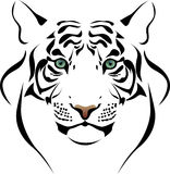 Het hoofd van de tijger Royalty-vrije Stock Fotografie