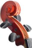 Het Hoofd van de viool Stock Afbeelding