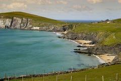 Het Hoofd van Dunmore, Dingle de Kust van het Schiereiland in Ierland stock foto