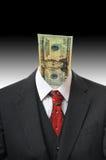Het Hoofd van het geld Stock Afbeelding