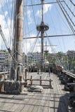 Het hoofddek van galjoenneptunus Royalty-vrije Stock Foto