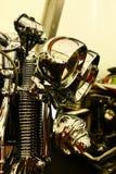 Het hoofddetail van de fiets Royalty-vrije Stock Afbeeldingen