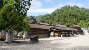 Het hoofdheiligdom van Izumotaisha Stock Foto's