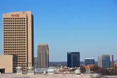 Het hoofdkantoor van Coca-Cola in Atlanta, Georgië Stock Foto