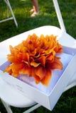 Het Hoofdkussen van de bloem stock foto