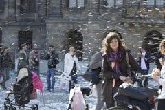 Het Hoofdkussenstrijd 2014 van Amsterdam Royalty-vrije Stock Afbeeldingen