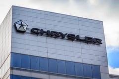 Het Hoofdkwartier van Chrysler Canada Stock Afbeelding
