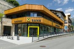 Het hoofdkwartier van de Bank van Raiffeisen in Boekarest Royalty-vrije Stock Afbeelding