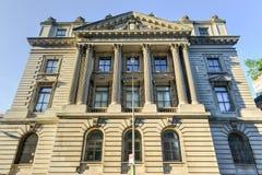 Het Hoofdkwartier van de de Stadspolitie van New York de Bouw Stock Afbeeldingen