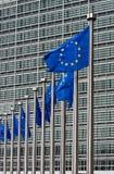 Het Hoofdkwartier van de Europese Commissie Stock Foto's