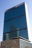 Het Hoofdkwartier van de V.N. - Manhattan, New York Stock Foto