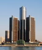 Het hoofdkwartier van General Motors Stock Afbeeldingen