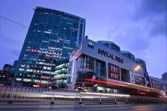 Het hoofdkwartier van Mykal in Dalian. Royalty-vrije Stock Foto
