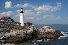 Het HoofdLicht van Portland, Maine Royalty-vrije Stock Foto's