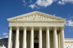 Het Hooggerechtshof stock afbeeldingen