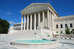 Het Hooggerechtshof van de V.S. Stock Fotografie
