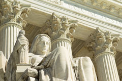 Het Hooggerechtshof van de V.S., stock afbeelding
