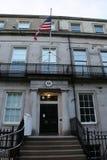Het Hooggerechtshof van de V S Consulaat-generaal in Edinburgh, Schotland stock afbeelding