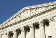 Het Hooggerechtshof van de V.S. - Rechtvaardigheid Stock Foto