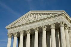 Het Hooggerechtshof van de V.S. in Washington DC Stock Foto's