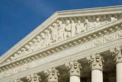 Het Hooggerechtshof van de V.S. in Washington DC Stock Afbeeldingen