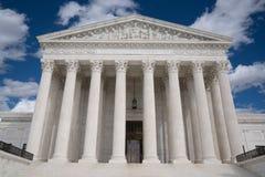 Het Hooggerechtshof van Verenigde Staten stock afbeelding