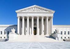 Het Hooggerechtshof van Verenigde Staten, Washington DC Stock Foto's