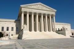 Het Hooggerechtshof van Verenigde Staten in Washington DC Stock Afbeelding