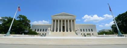 Het Hooggerechtshof van Verenigde Staten in Washington DC, de V.S. Stock Afbeeldingen